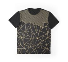 Ab Lines 45 Gold Graphic T-Shirt