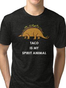 Taco is my Spirit Animal Tri-blend T-Shirt