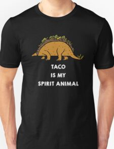 Taco is my Spirit Animal Unisex T-Shirt