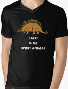 Taco is my Spirit Animal Mens V-Neck T-Shirt