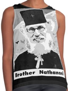 Brother Nathanael with Title Contrast Tank