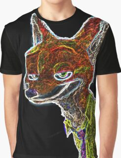 Neon Nick Wilde Graphic T-Shirt