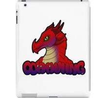 Odahviing Badge iPad Case/Skin
