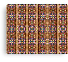 Patterns of life - Inca Canvas Print