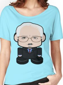 Bernie Sanders Politico'bot Toy Robot 1.0 Women's Relaxed Fit T-Shirt