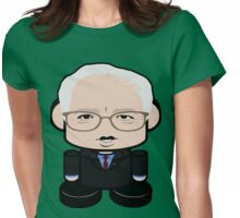 Bernie Sanders Politico'bot Toy Robot 1.0 Womens Fitted T-Shirt