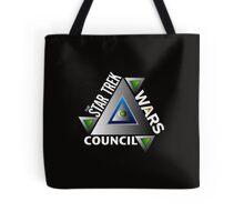 Star Trek Wars Council Transparent Back Ground Tote Bag