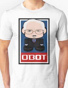 Bernie Sanders Politico'bot Toy Robot 2.0 T-Shirt