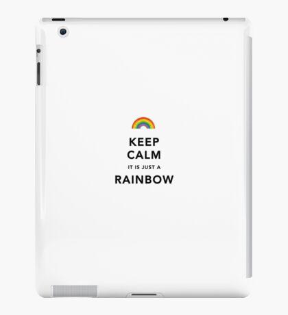 Keep Calm Rainbow iPad Case/Skin