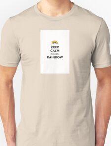 Keep Calm Rainbow Unisex T-Shirt