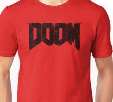 DOOM (DOOM 4) : DEMON WEATHERED LOGO TEE Unisex T-Shirt