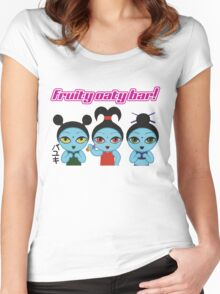 Fruity Oaty Bar! Shirt (Firefly/Serenity) Women's Fitted Scoop T-Shirt