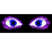 Ink Eyes Photographic Print