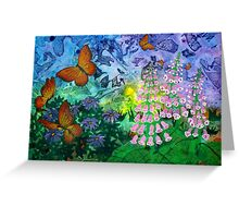 Monarch Haven Greeting Card