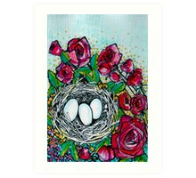 Mothers Day Nest Art Print