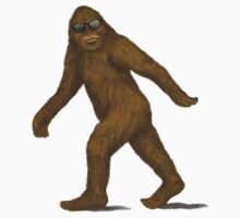 Bigfoot in Shades Kids Tee