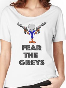 Fear the Greys! Women's Relaxed Fit T-Shirt
