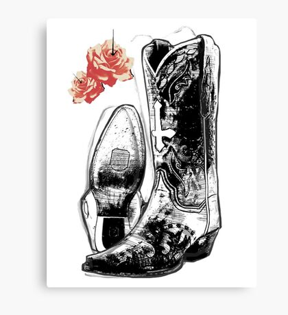 Wicked Boots Canvas Print