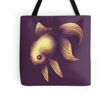 Fantail in Purple Tote Bag
