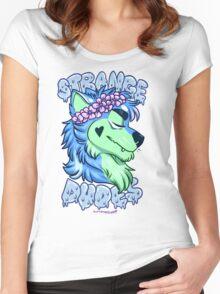 STRANGE DUDES- The Werewolf Women's Fitted Scoop T-Shirt