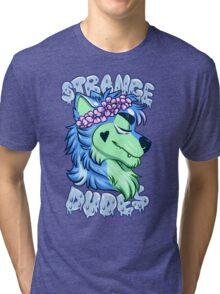 STRANGE DUDES- The Werewolf Tri-blend T-Shirt