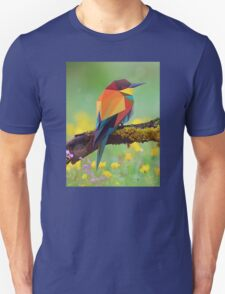 Bird Vector Painting Unisex T-Shirt