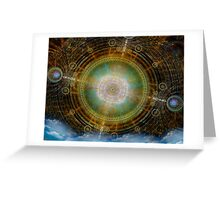 Ancient Compass Greeting Card