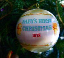 1st Ornament by Karen Checca