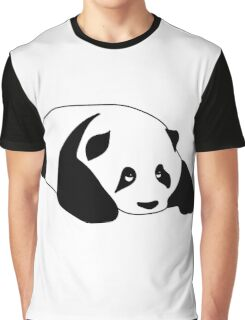 Sleepy Panda Graphic T-Shirt