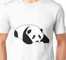 Sleepy Panda Unisex T-Shirt