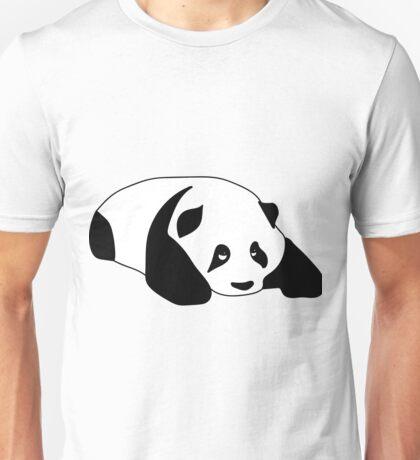 Sleepy Panda Unisex T-Shirt