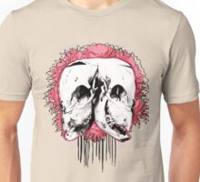 Double Cow Skull Unisex T-Shirt