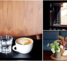 Glass of Water, Cup of Coffee by the-novice
