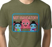 "Fruity Oaty Bar! ""NOT MANDATORY"" Shirt (Firefly/Serenity) Tri-blend T-Shirt"