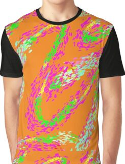 Funky Swirl by Anne Winkler Graphic T-Shirt