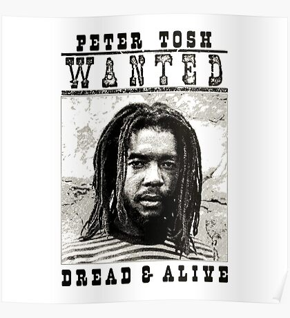 Wanted : Jamaican Dread Poster