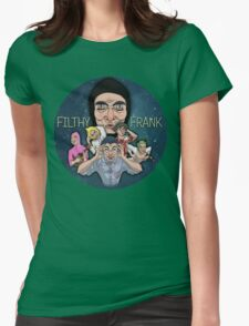 FILTHY FRANK & FRIENDS Womens Fitted T-Shirt