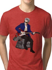 The 12th Doctor and K-9 Tri-blend T-Shirt