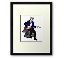 The 12th Doctor and K-9 Framed Print
