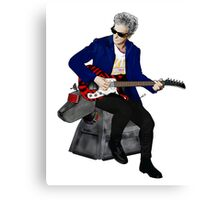The 12th Doctor and K-9 Canvas Print