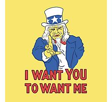 I Want You To Want Me Photographic Print