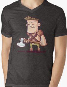 Barbarian Mens V-Neck T-Shirt