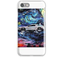 Pop Culture Mashup - Back to Van Gogh  iPhone Case/Skin
