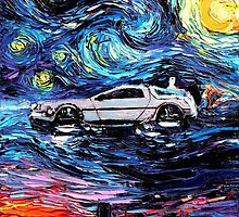Pop Culture Mashup - Back to Van Gogh  by sharpstone