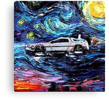 Pop Culture Mashup - Back to Van Gogh  Canvas Print