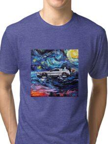 Pop Culture Mashup - Back to Van Gogh  Tri-blend T-Shirt