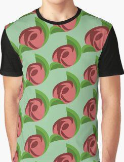 Swirled Rose Graphic T-Shirt