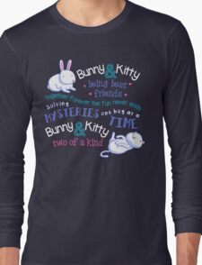Bunny & Kitty Long Sleeve T-Shirt