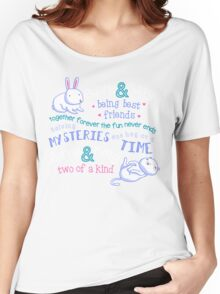 Bunny & Kitty Women's Relaxed Fit T-Shirt