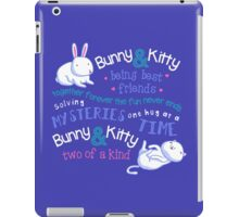 Bunny & Kitty iPad Case/Skin
